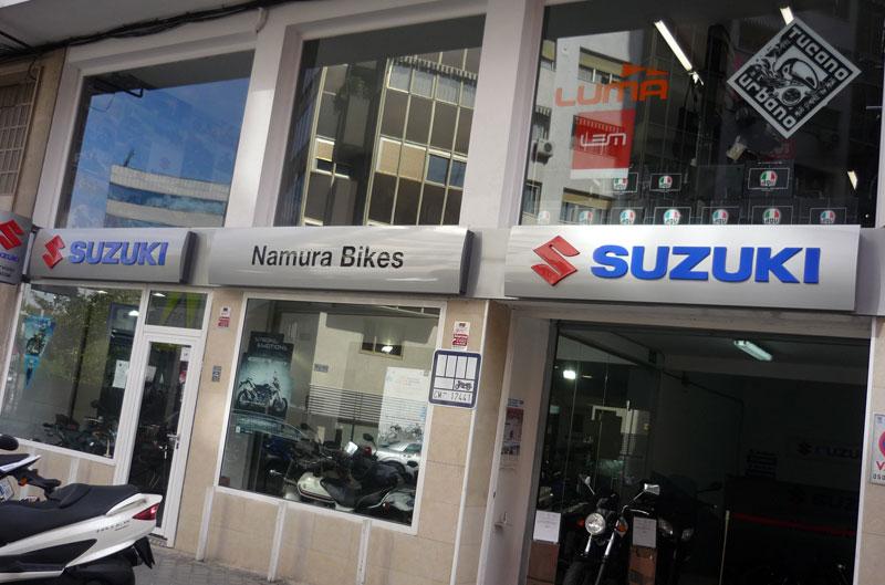 Promoción en Suzuki Namura para la gama 125cc