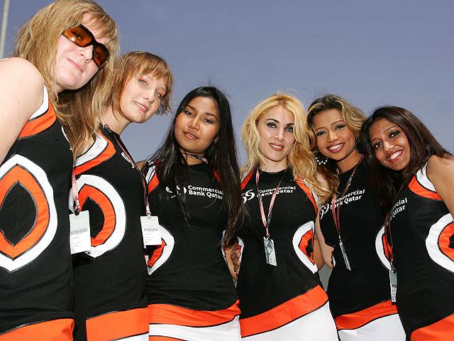 Paddock Girls Qatar