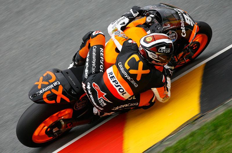 Marc Márquez, victoria en el Gran Premio de Alemania de Moto2