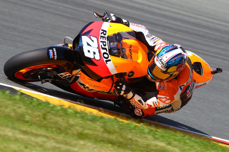 Victoria de Dani Pedrosa en el GP de Alemania de MotoGP