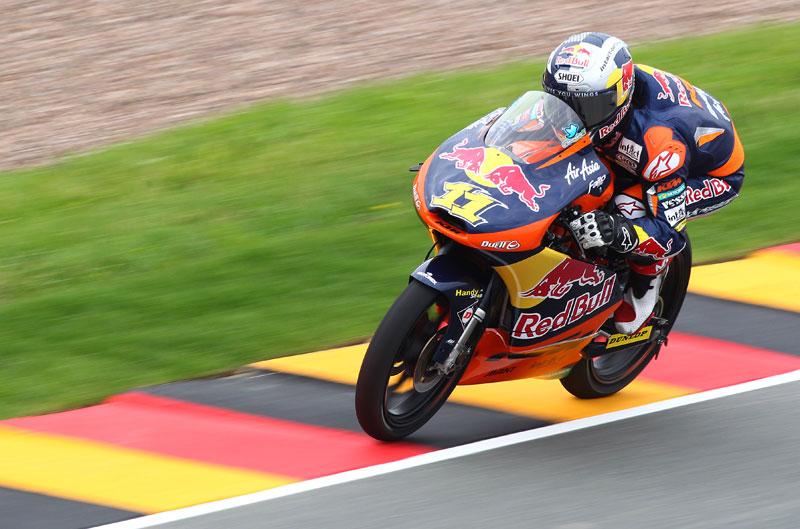 Sandro Cortese vence en el GP de Alemania de Moto3
