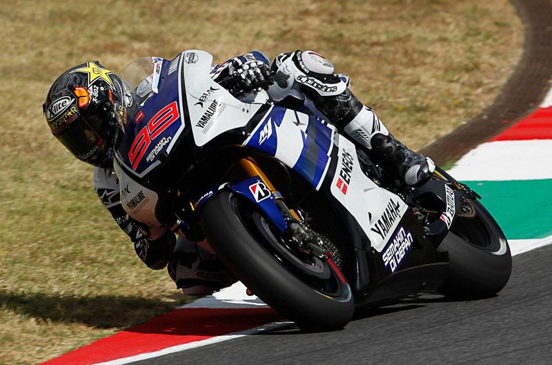 Lorenzo de nuevo primero en el FP2 del GP de Italia
