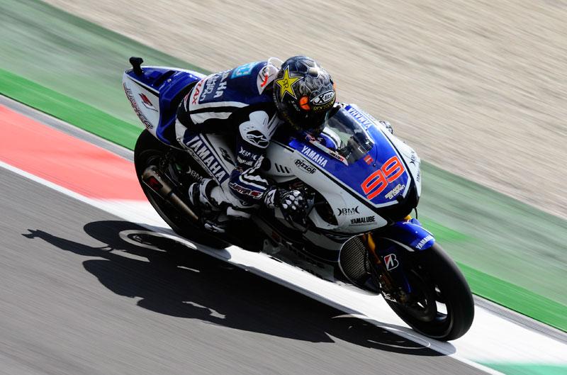Lorenzo, Pedrosa y Stoner encabezan el FP3 del Gran Premio de Italia