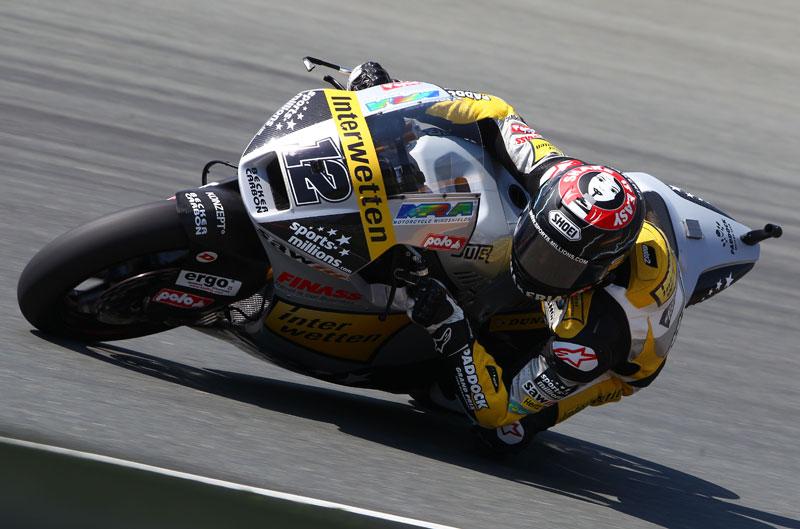 Thomas Luthi, el más rápido en el FP3 del Gran Premio de Italia