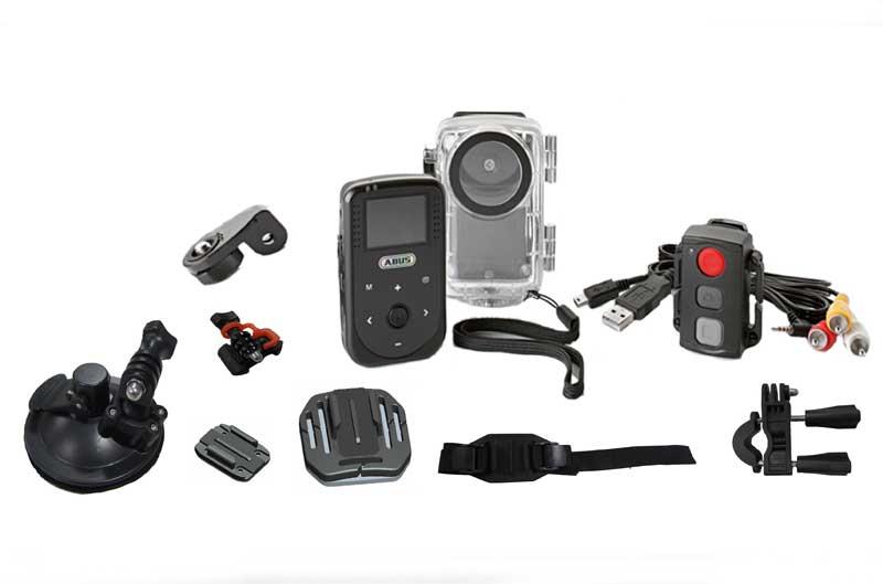Abus presenta Sportscam, una cámara para deportistas