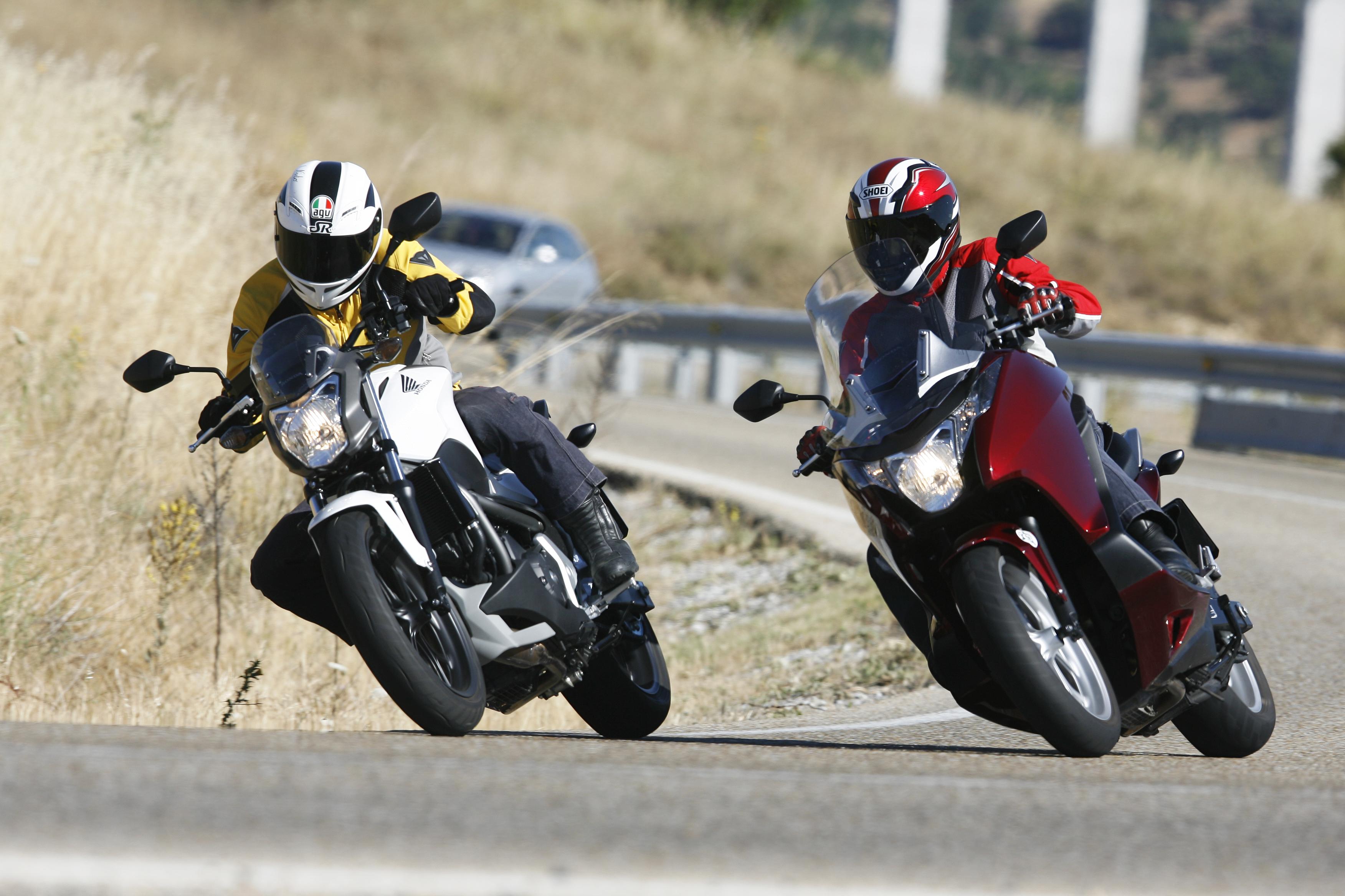 Comparativa Honda Integra vs Honda NC700S ABS DCT
