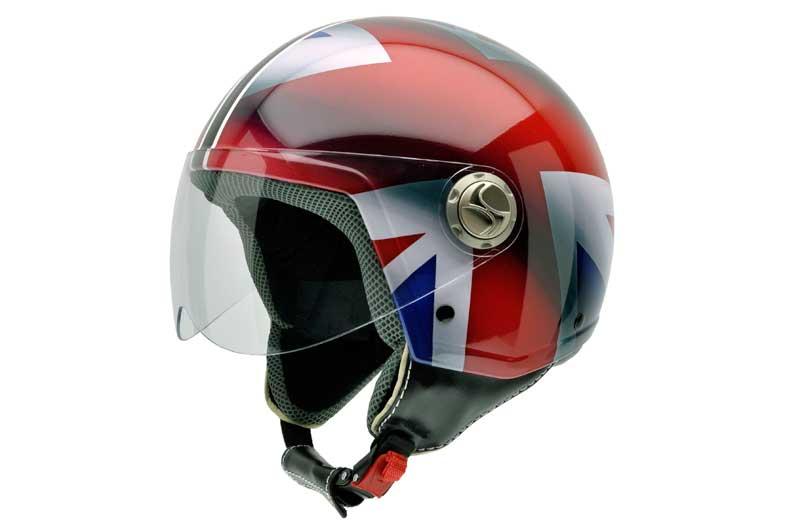 NZI Union Jack con tecnología 3D Helmets