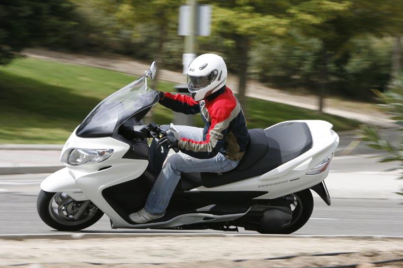 Qué moto comprar: Scooter 350/400
