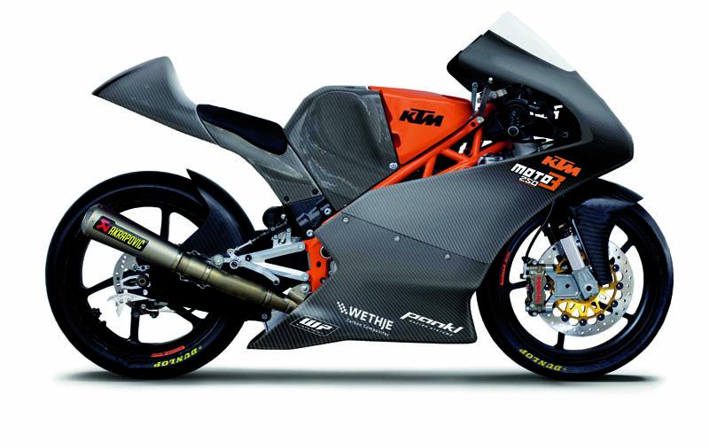 KTM apuesta firmemente por la Moto3