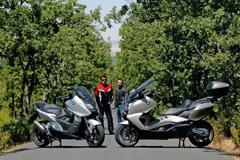 Comparativa Scooters BMW: C 600 Sport y 650 GT