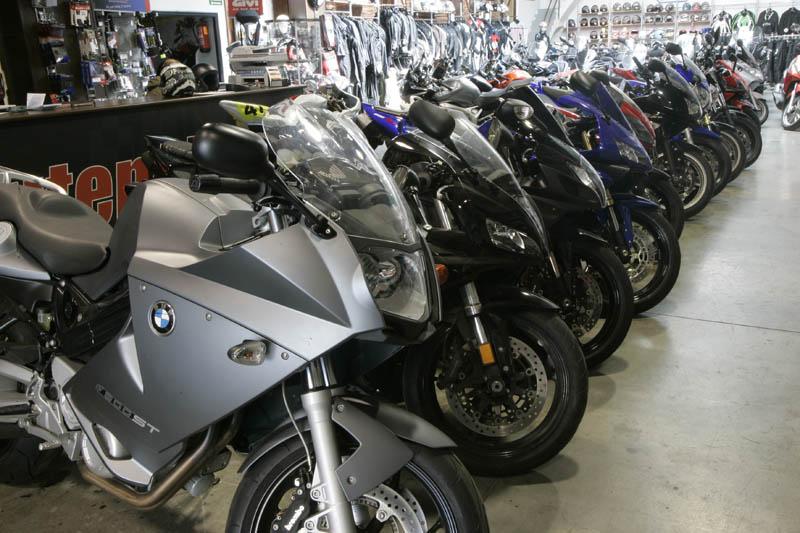 Las matriculaciones de motos siguen en descenso