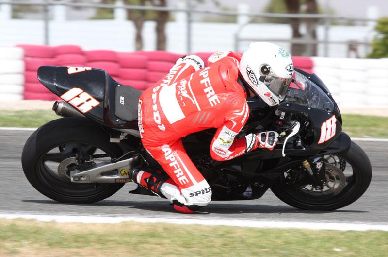 Nico Terol entrena en Albacete
