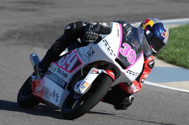 Victoria de Luis Salom en el Gran Premio de Indianápolis de Moto3
