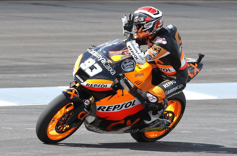 Marc Márquez gana el Gran Premio de Indianápolis de Moto2