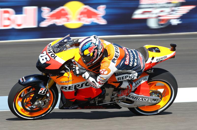 Dani Pedrosa vence en el Gran Premio de Indianápolis de MotoGP