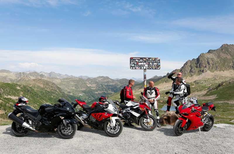 Alpen Master 2012: Deportivas