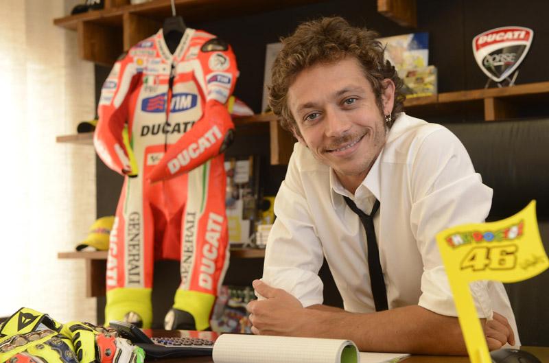 Valentino Rossi, piloto y empresario