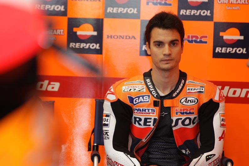 Dani Pedrosa: Tengo ganas de llegar a Brno y hacer otra buena carrera.
