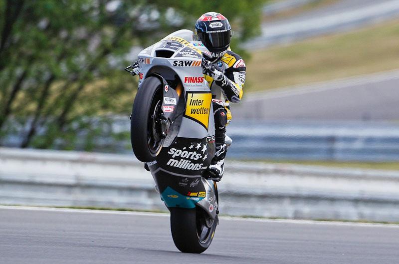 Thomas Luthi, el más rápido en el FP2 del Gran Premio de la República Checa