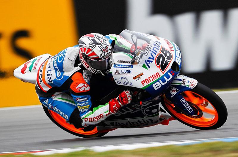 Maverick Viñales, primero en parrilla del GP de la República Checa de Moto3