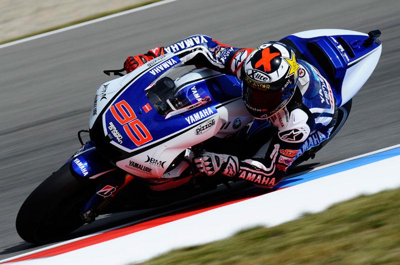 Lorenzo, Pole Position en el GP de la República Checa de MotoGP