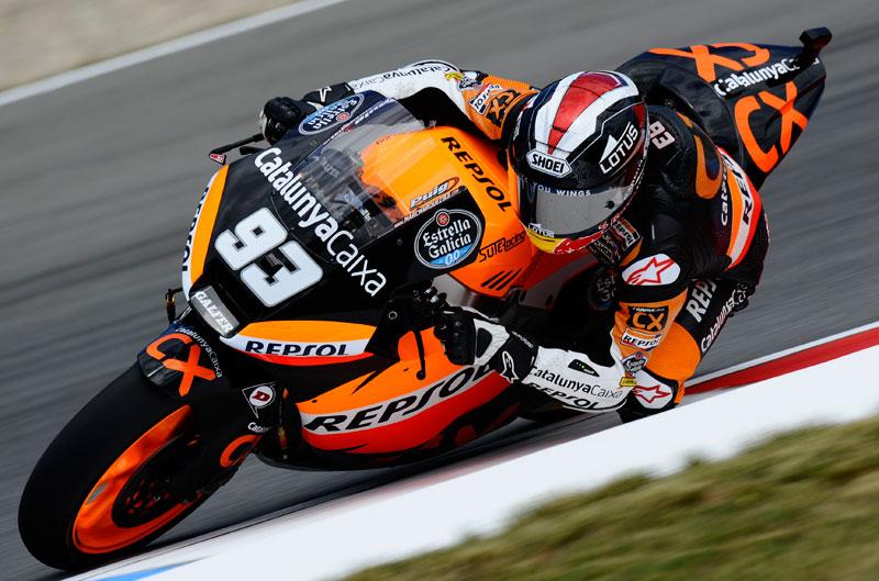 Márquez vence en el GP de la República Checa de Moto2