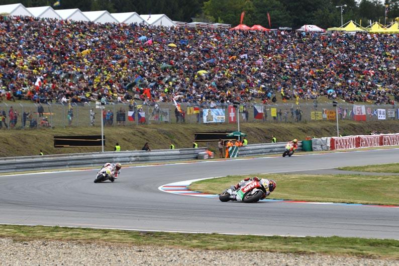 Entrenamientos MotoGP en Brno