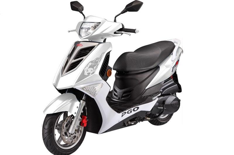 PGO presenta su scooter Tigra 125 EFI