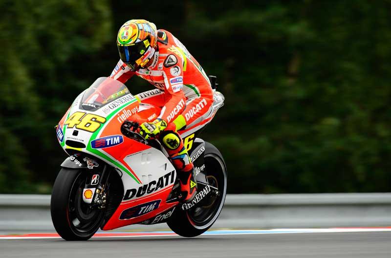 Entrenamientos de Ducati en Misano