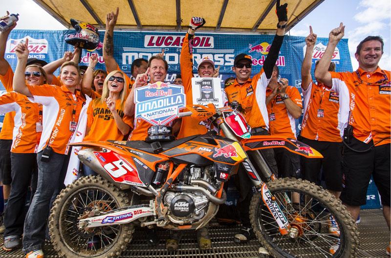 Ryan Dungey, campeón AMA MX 450