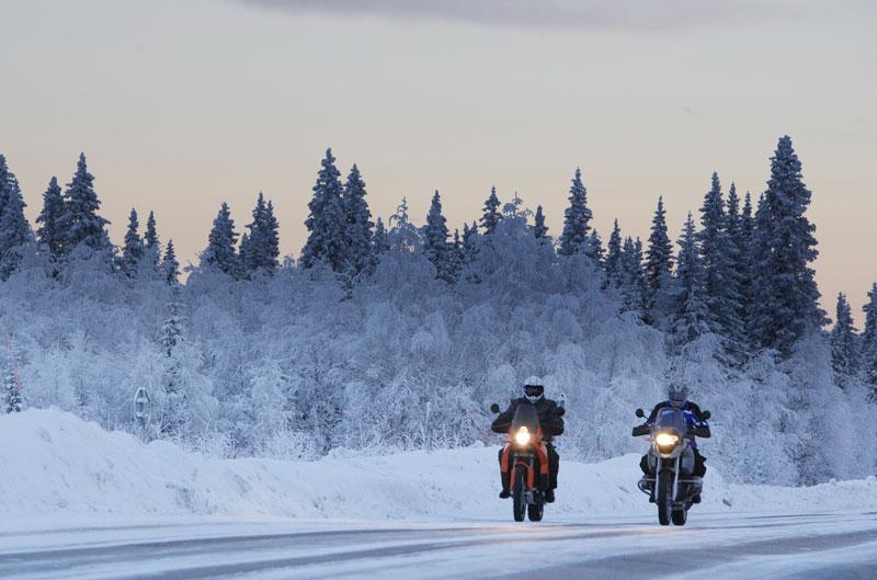 Trajes de invierno para moto