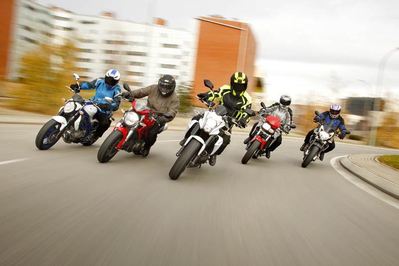 Comparativa naked: Aprilia, BMW, Ducati, Kawasaki, Suzuki
