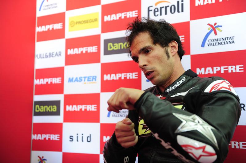 Los problemas de Toni Elías en el Mundial de MotoGP