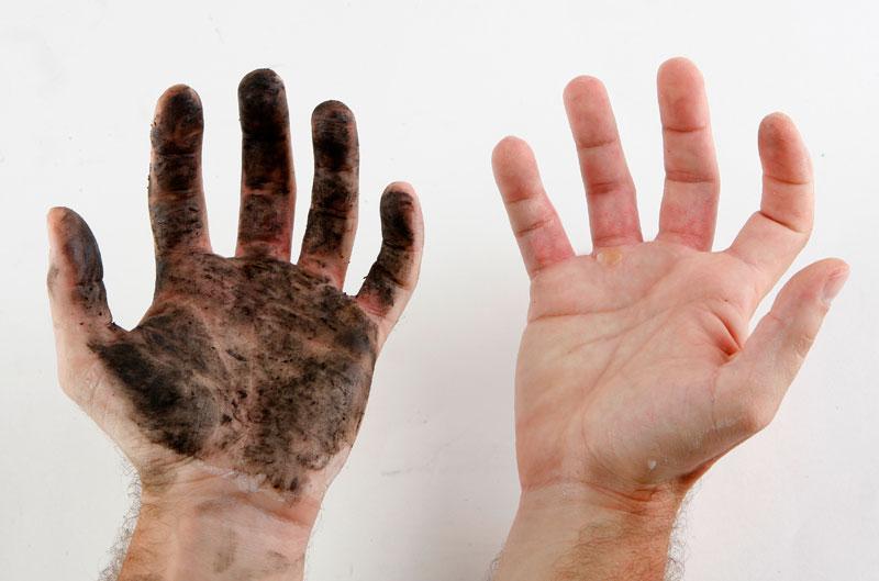 El cuidado de las manos con la mecánica