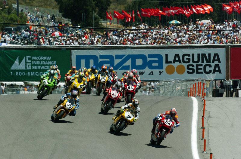 Laguna Seca regresa al Mundial de SBK en 2013