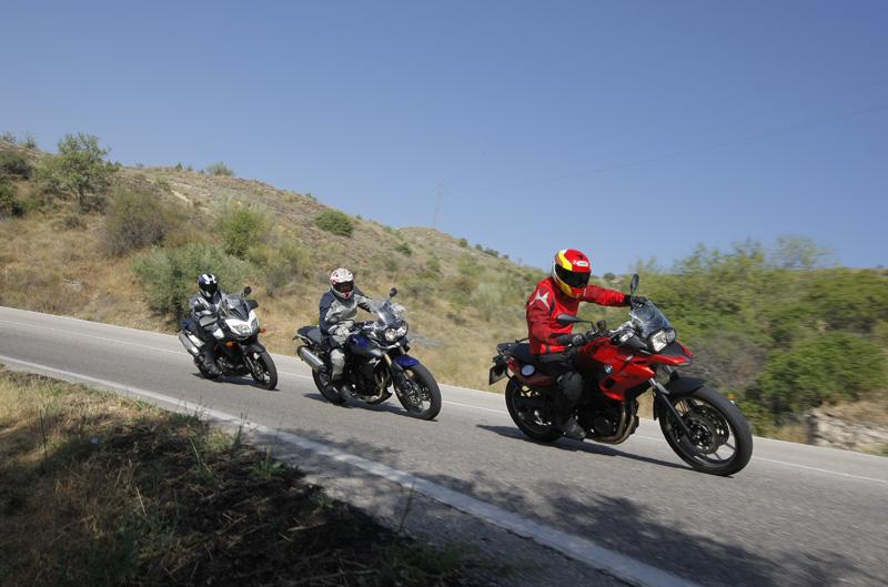 Comparativa trail medias: BMW, Suzuki y Triumph