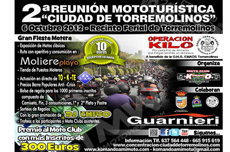 II Reunión Mototurística Ciudad de Torremolinos
