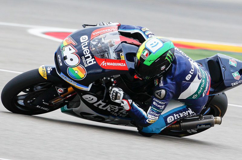 Pol Espargaró se impone en el Gran Premio de Aragón de Moto2
