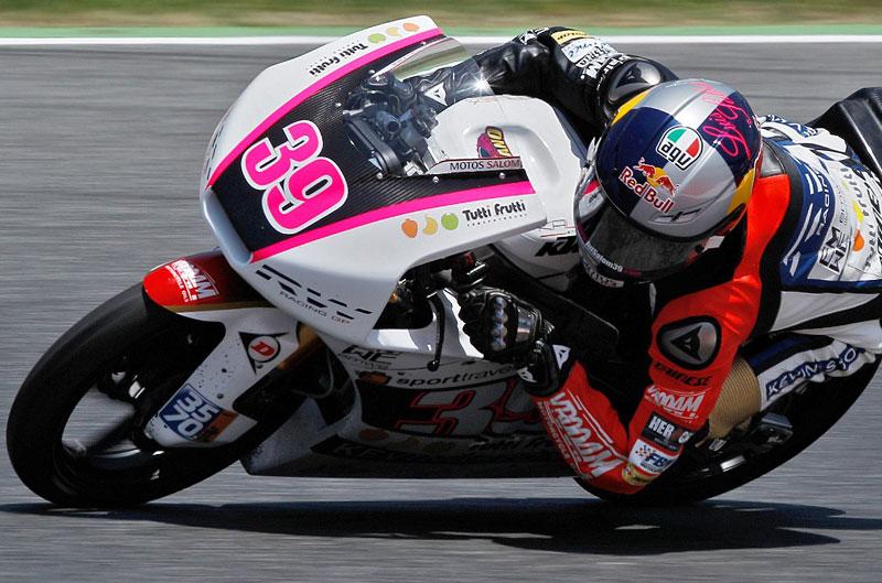 Victoria de Luis Salom en el Gran Premio de Aragón de Moto3