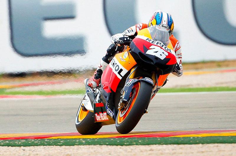 Dani Pedrosa gana el Gran Premio de Aragón de MotoGP