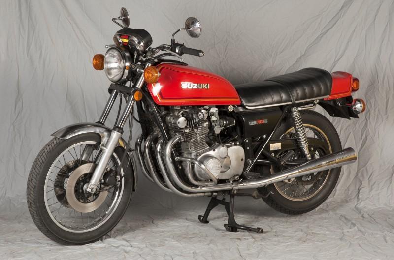 Suzuki GS 750: La última en llegar
