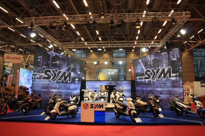 Novedades SYM en Intermot 2012