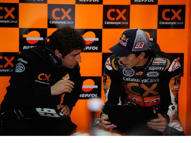 Marc Márquez subirá a MotoGP con dos mecánicos