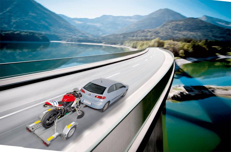 Cómo transportar tu moto