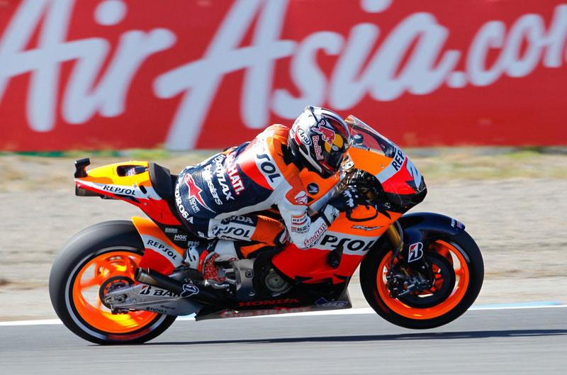 Pedrosa, Lorenzo y Bautista, podio español en el Gran Premio de Japón de MotoGP