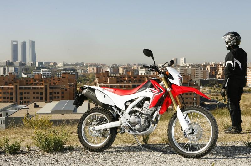 Honda CRF250L. Prueba