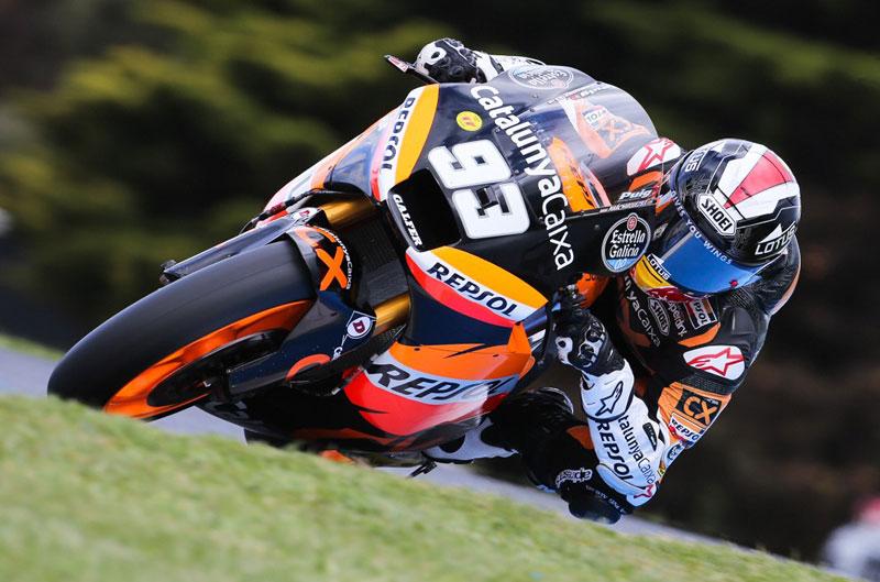 Marc Márquez se proclama campeón del mundo de Moto2 en el Gran Premio de Australia