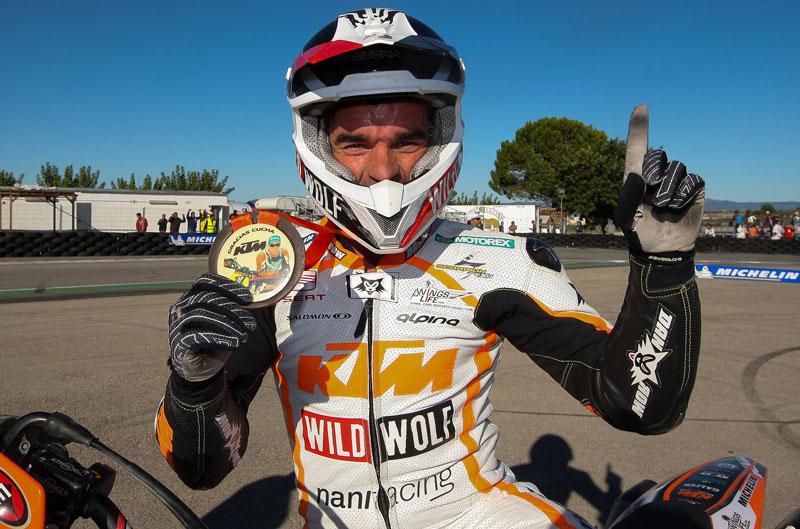 Campeonato de España de Supermotard. Cucharrera, campeón