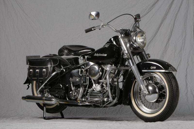 Harley Davidson FLH 1955