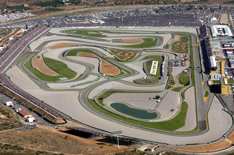 Circuito y horarios del Mundial de MotoGP en Cheste